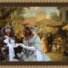 King Charles Spaniel Fine Art Canvas Print - Fair