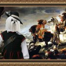 Maltese Fine Art Canvas Print - La Bataille de La Marsaille