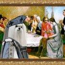 Maltese Fine Art Canvas Print - Lorenzo and Isabella