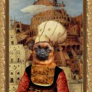 Petit Brabancon Fine Art Canvas Print - The Tower of Babel