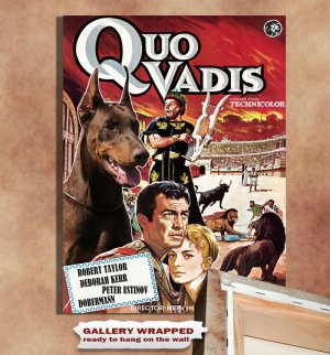 Dobermann Poster Canvas Print  -  Quo Vadis Movie Poster