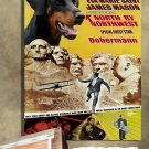 Dobermann Poster Canvas Print  -  North by Northwest Movie Poster
