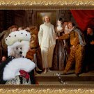 Poodle Fine Art Canvas Print - The Italian comedians
