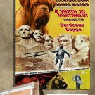 Bordeaux Dogge Poster Canvas Print  -  North by Northwest Movie Poster