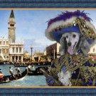Poodle Fine Art Canvas Print - The Bucintoro