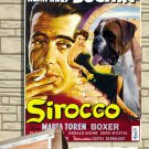 German Boxer Poster Canvas Print  - Sirocco Movie Poster
