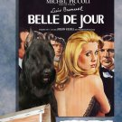 Giant Schnauzer Poster Canvas Print  -  Belle de Jour Movie Poster