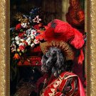 Poodle Fine Art Canvas Print - Red Baron