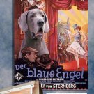 Great Dane Poster Canvas Print  -  The Blue Angel Movie Poster
