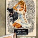 Miniature Schnauzer Poster Canvas Print  -  Une Parisienne Movie Poster