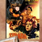 Rottweiler Poster Canvas Print  -  La strada Movie Poster