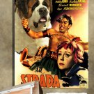 Saint Bernard Poster Canvas Print  -  La strada Movie Poster