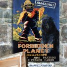 Bouvier des Flandres Poster Canvas Print  -  Forbidden Planet Movie Poster