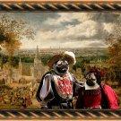 Pug-Mops Fine Art Canvas Print - The Fair day