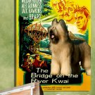 Briard Poster Canvas Print  -  The Bridge on the River Kwai