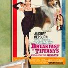Shetland Sheepdog Poster Canvas Print  -  Breakfast at Tiffany's Movie Poster