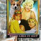 Welsh Corgi Pembroke Poster Canvas Print  -  Some Like It Hot
