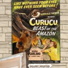 Airedale Terrier Poster Canvas Print  -  Curucu, Beast of the Amazon Movie Poster