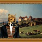 Russian Toy Fine Art Canvas Print - View of the castle