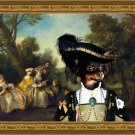Russian Toy Fine Art Canvas Print - Toy Concert in the Park