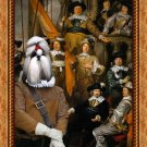 Shih Tzu Fine Art Canvas Print - The meeting musketeers