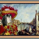 Shih Tzu Fine Art Canvas Print - Red Casanova