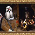 Shih Tzu Fine Art Canvas Print - The Liberation of St. Peter