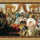 Tibetan Terrier Fine Art Canvas Print - Declaration of the Chinese Emperor