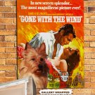 Australian Terrier Poster Canvas Print  -  Gone with the Wind  Movie Poster