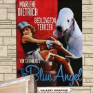 Bedlington Terrier Poster Canvas Print  -  The Blue Angel Movie Poster