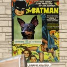 English Toy Terrier Poster Canvas Print  -  Batman Movie Poster
