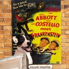 Jack Russell Terrier Poster Canvas Print  -  ABBOTT AND COSTELLO Movie Poster