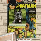 Scottish Terrier Poster Canvas Print  -  Batman Movie Poster