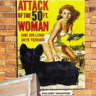 Skye Terrier Poster Canvas Print  -  Attack of the 50 Foot Woman