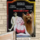Yorkshire Terrier Poster Canvas Print  -  Some Like It Hot