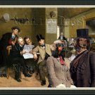 Dachshund Standard Longhaired Fine Art Canvas Print - The Latest News