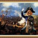 Dachshund Standard Smoothaired Fine Art Canvas Print - Bivouac à la veille d'Austerlitz