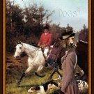 Dachshund Standard Smoothaired Fine Art Canvas Print - The Foxhunt