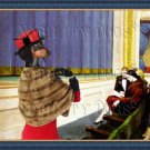 Dachshund Standard Smoothaired Fine Art Canvas Print - First Row Orchestra
