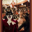 Finnish Lapphund Fine Art Canvas Print - The Circus Lover