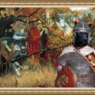 Finnish Reindeer Herder Fine Art Canvas Print - Where is Battle