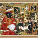 Finnish Reindeer Herder Fine Art Canvas Print - The Tribuna of the Uffizi