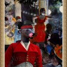 Mexican Hairless Dog Fine Art Canvas Print - Night in the Moulin Roughe