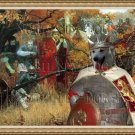 Norwegian Buhund Fine Art Canvas Print - Before the Battle