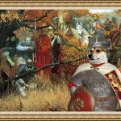 Norwegian Lundehund Fine Art Canvas Print - Where is a Enemy