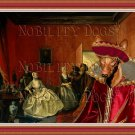 Pharaoh Hound Fine Art Canvas Print - Jewelry Seller