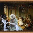Pomeranian Fine Art Canvas Print - Actors Before a Performance