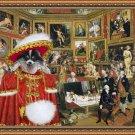 Pomeranian Fine Art Canvas Print - The Tribuna of the Uffizi
