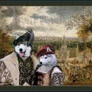 Siberian Husky Fine Art Canvas Print - Successful purchase on the Fair