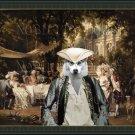 Siberian Husky Fine Art Canvas Print - The Garden Party